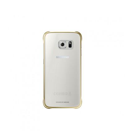 ซัมซุง Clear Cover (กาแล็กซี่ S6 ) - gold