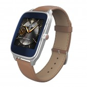 ASUS ZenWatch 2 WI501Q (BQC) Silver/Leather Camel