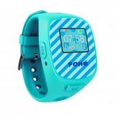 POMO Kids Moji นาฬิกาโทรศัพท์ GPS ติมตามตัว รุ่น Moji (blue)