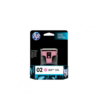 HP 02 Light Magenta Original Ink Cartridge (C8775WA)