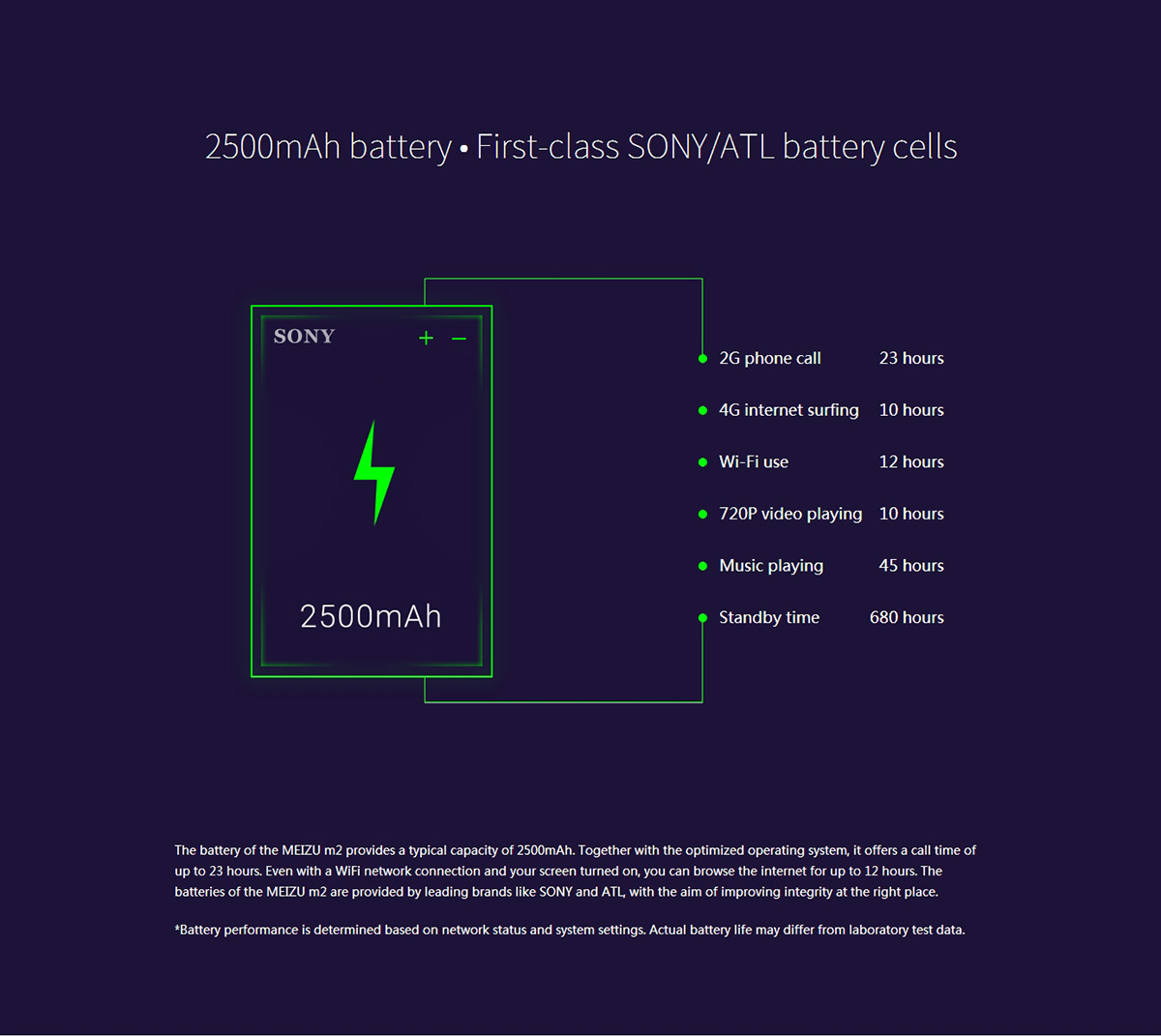 5.0 inch MEIZU M2 Android 5.1 4G Smartphone MTK6735 64bit Quad Core 1.3GHz 16GB ROM 5MP + 13MP Cameras