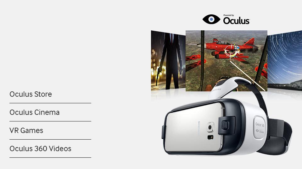เนื้อหาคอนเทนต์สำหรับ Gear VR