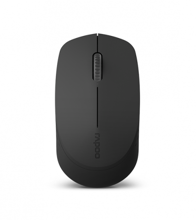 Rapoo Multi mode Optical Mouse Silent (MSM100) - Black
